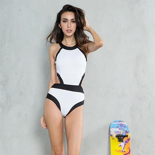 Monokini Crop Top Monokini | Furrple