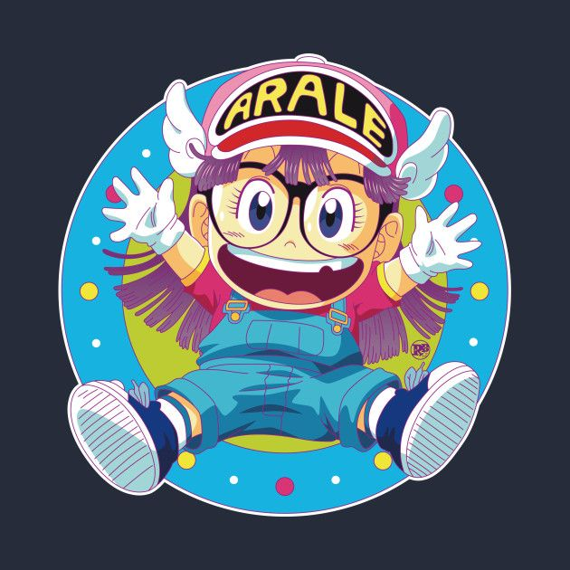 Awesome 'Dr+Slump+e+Arale' design on TeePublic!