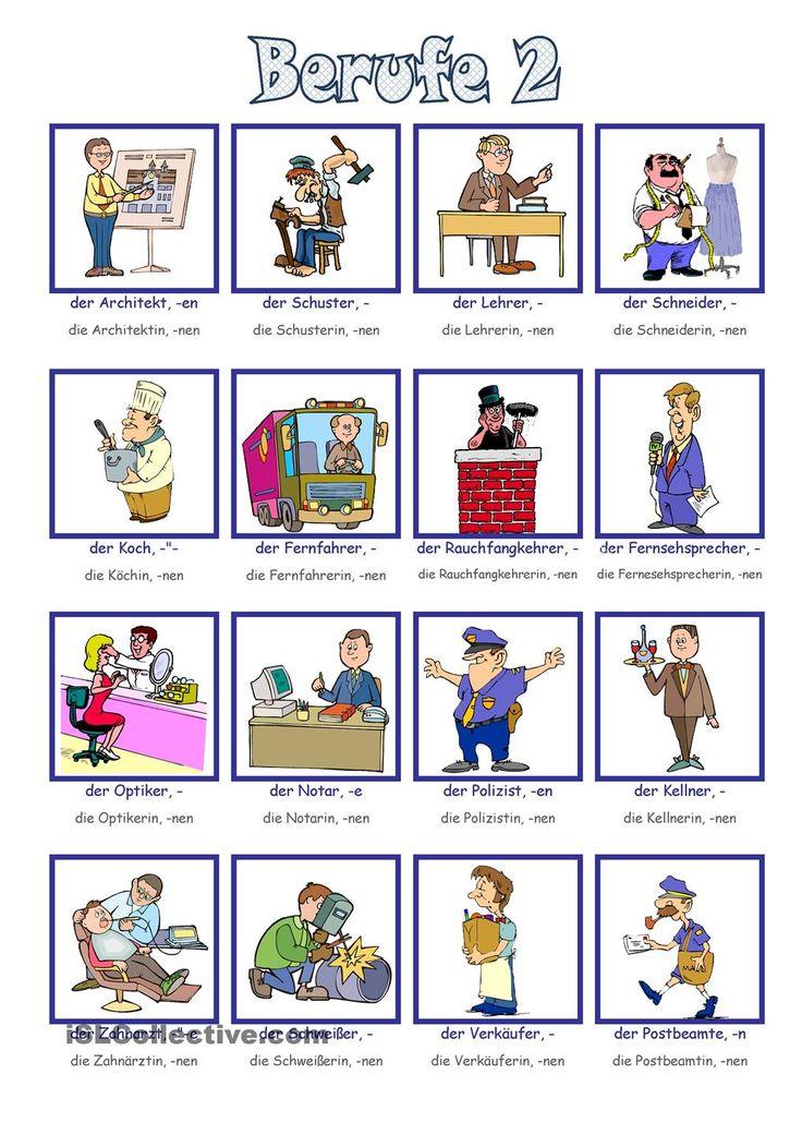 Berufe Bildwörterbuch 2                                                                                                                                                                                 Mehr