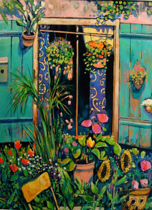 Just love the colors. Terence Clarke Contemporary Artist from the UK