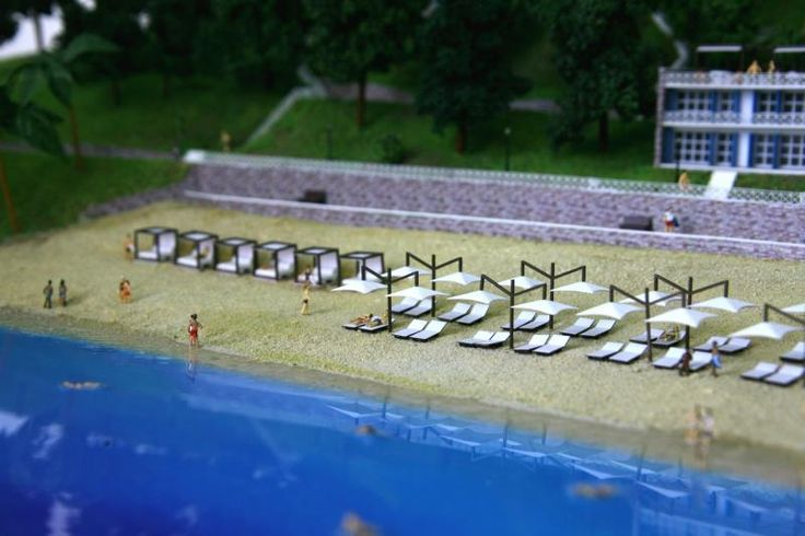 "The architectural model of the resort for us ""Soho Hotel and Resort"". Макет курорта для компании ""Soho Hotel and Resort"""