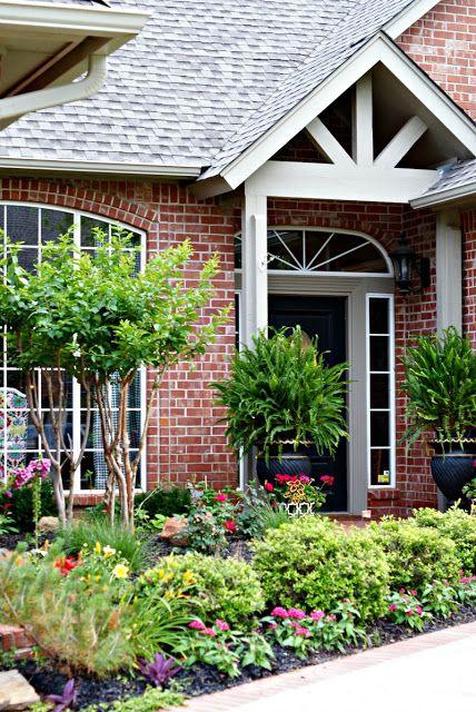 Flower Garden Ideas For Front Of House best 20+ front flower beds ideas on pinterest | flower beds, front