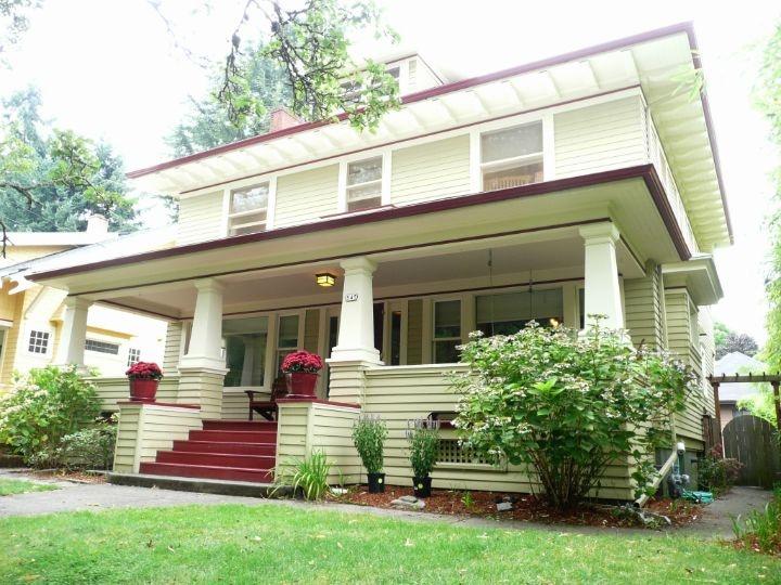 141 best great portland oregon houses images on pinterest for Portland craftsman homes