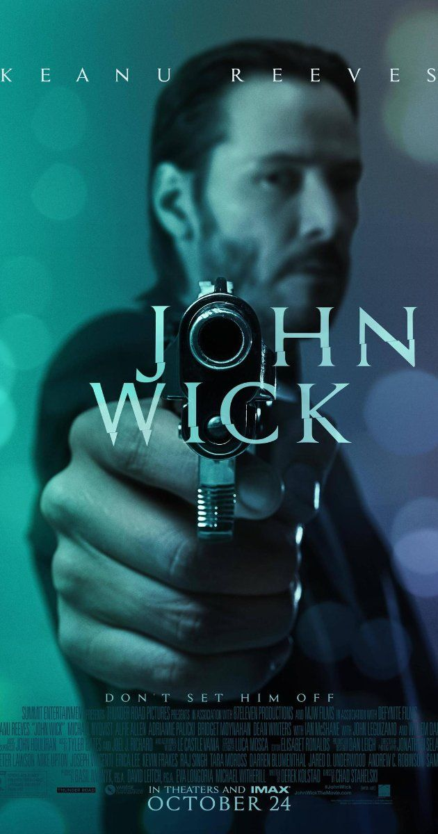 John Wick (2014) 101 min  -  Action   Thriller Stars: Keanu Reeves, Michael Nyqvist, Alfie Allen, Willem Dafoe.  ~~~An ex-hitman comes out of retirement to track down the gangsters that took everything from him. ~~~I have to say it's got to be his best role! Move over Tom Cruise & Denzel, there's a new action hero in town!!! John Wick will put the hurts on ya!   5♦star rating and Oscar worthy..!