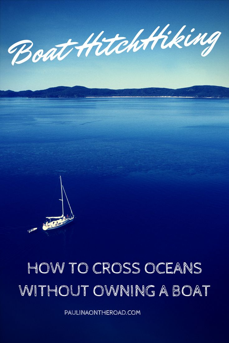 Fancy a little #adventure? Why don't you try #boat hitchhiking? There are hardly any means of transport that are more eco-friendly and apt for slow #traveling. Cross #oceans without owning a boat! #sailing #atlantic