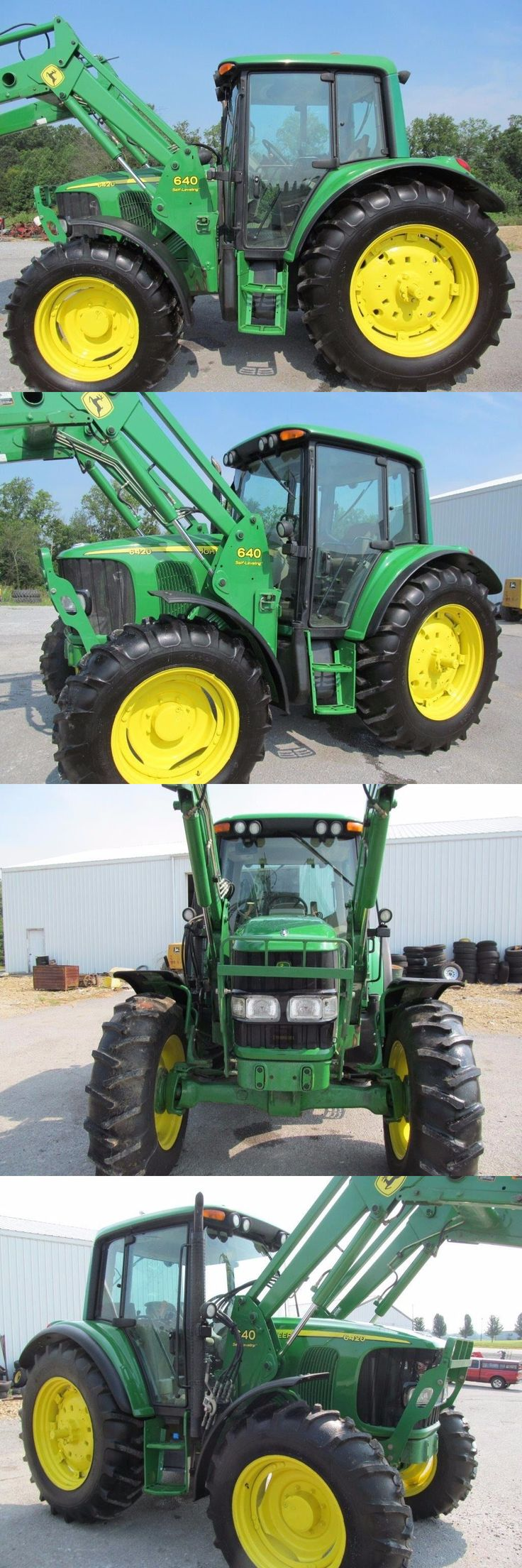 John Deere 6420 Diesel Tractor 4 X 4 With Cab &... - Exclusively on #priceabate #priceabateHeavyEquipments! BUY IT NOW ONLY $50299