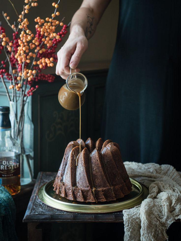 Sticky Toffee Pudding Cake with Bourbon Toffee Sauce // Тоффи пудинг с бурбоновым соусом   Urban Kitchen Affair
