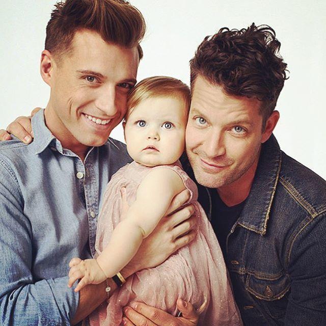 Jeremiah, Poppy, and Nate Berkus. My favorite celebrity family