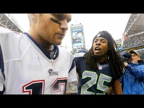 Richard Sherman gives the inside story on the famous words he relayed to Tom Brady last season.