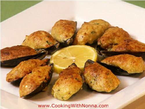 Baked Stuffed Mussels, a fantastic appetizer always full of flavor