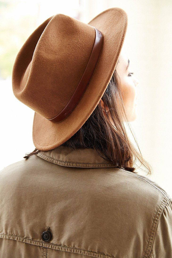I have this hat in pecan and love it! Brixton Messer Hat