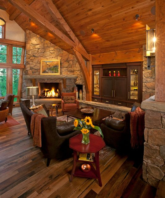 Corner fireplace rustic living room corner fireplace with for World concepts lodge furniture