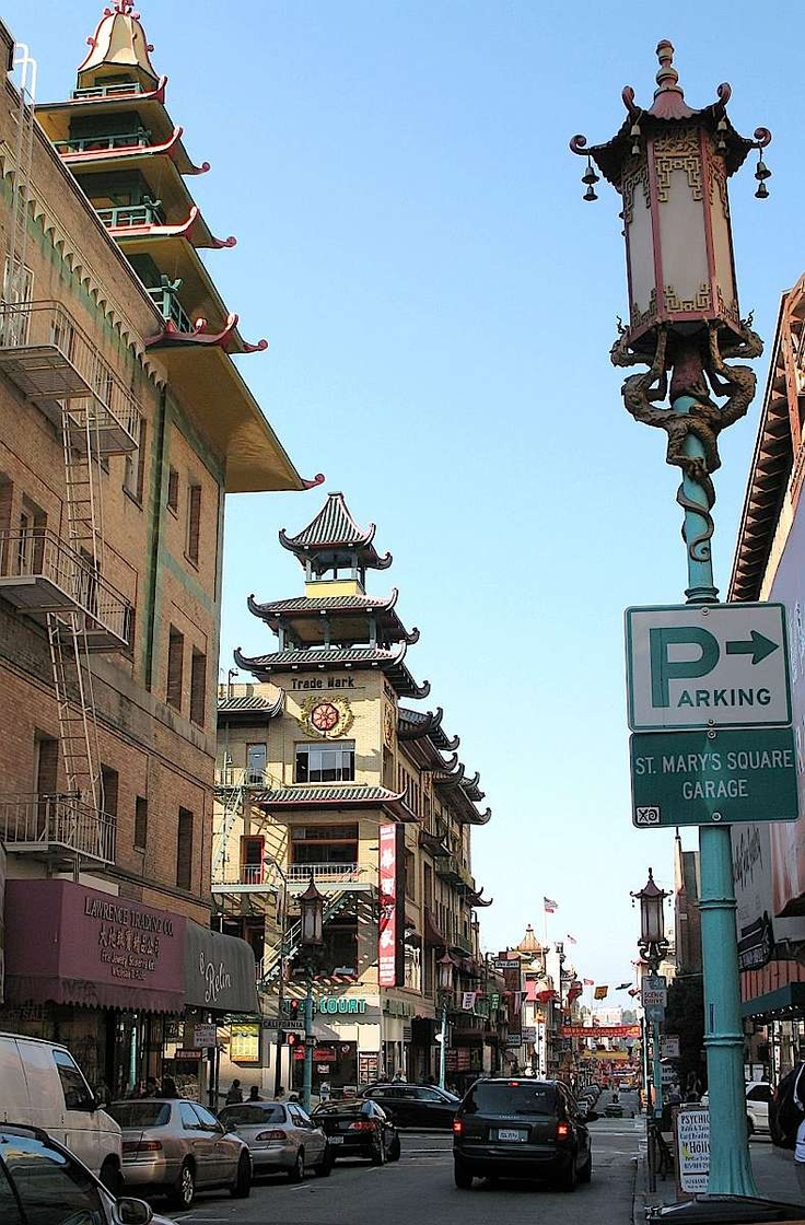 Chinatown in San Francisco Grant Street 115