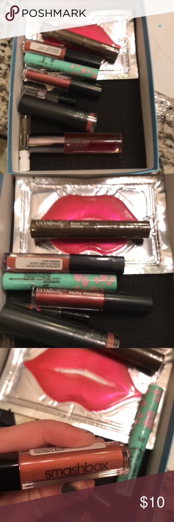 Makeup samples kit A combination of samples from ulta