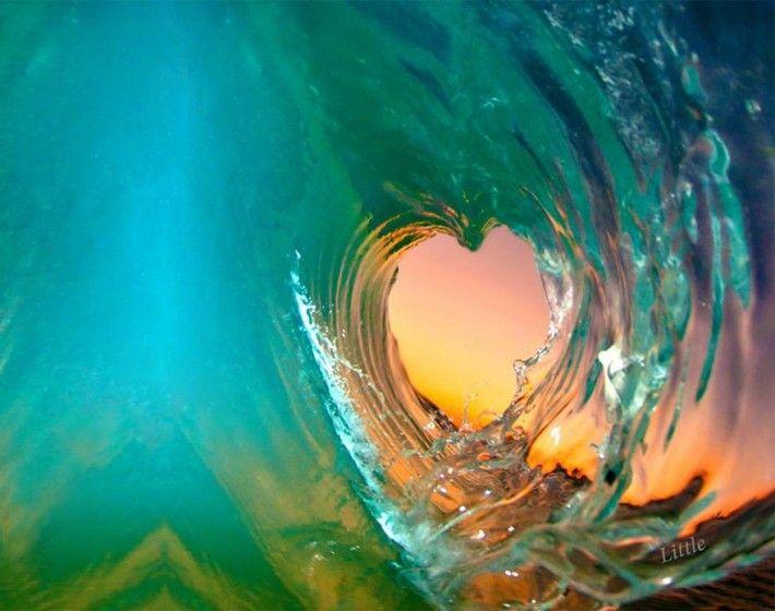 Любовь волна картинки