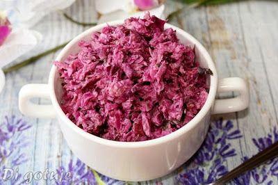 Di gotuje: Szybka surówka z czerwonej kapusty ze słoika