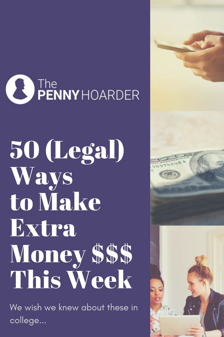 Ready to fatten your bank account? We've found 50 ways to make money this month -- and most of them you can do on the side!