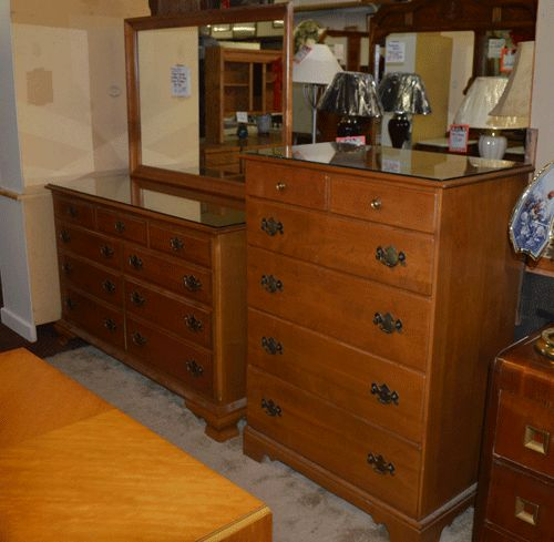 Solid Maple Ethan Allen Bedroom Furniture Treasure Chest