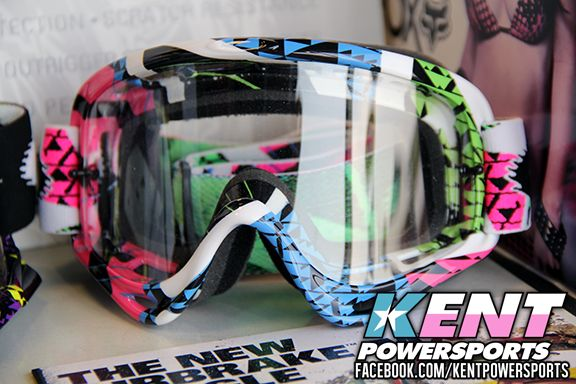 At Kent Powersports we carry all your accessory essentials! Like these Women's Oakley Motocross Goggles! Stop in today or check out our website at www.kps-sa.com