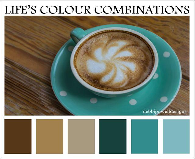 Debbi Powell Designs: Life's Colour Combinations Wednesday #2
