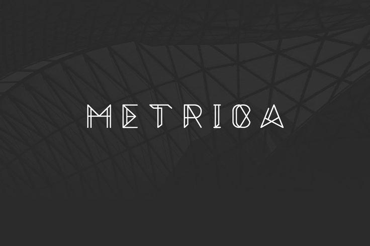 Metrica – Free Futuristic Font