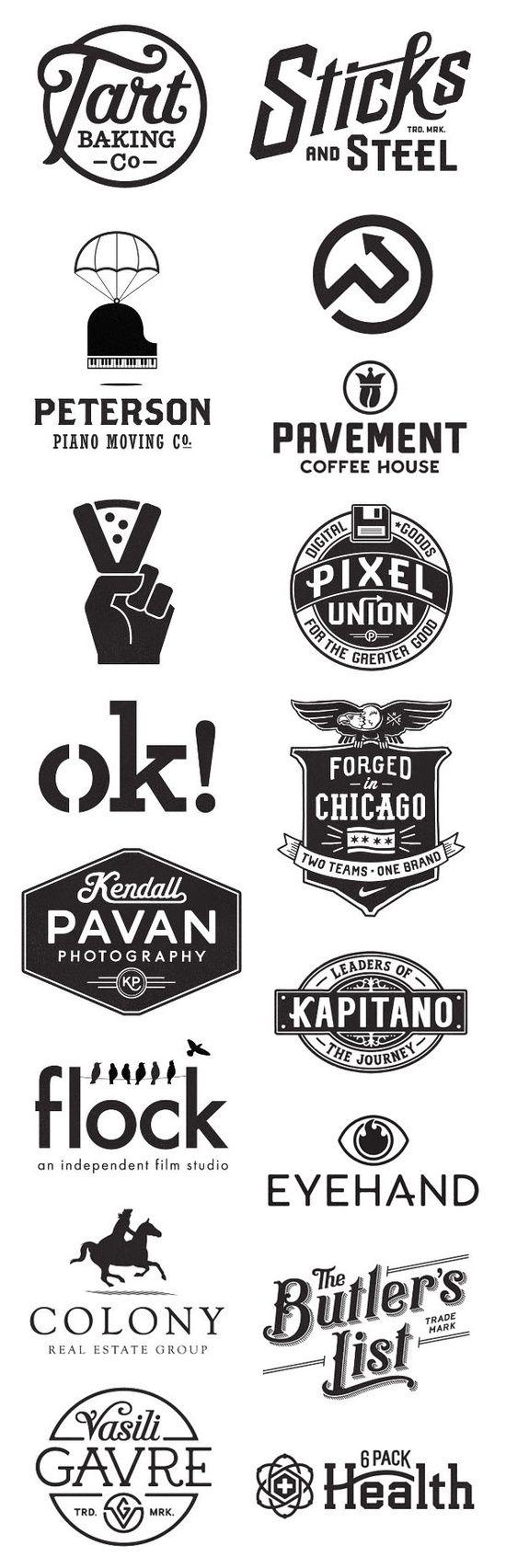 Trendy logos GRAPHIC DESIGN INSPIRATION SET 4 | Designcollector