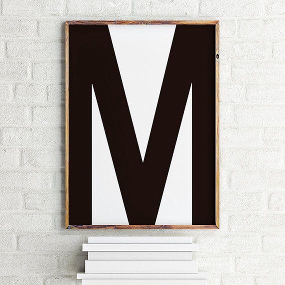 Helvetica-Tribut-Poster M / druckbare Digitalkunst von MBmindbackup