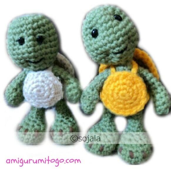 Amigurumi Little Bigfoot Turtle : 17 meilleures images ? propos de Free Turtle Crochet ...