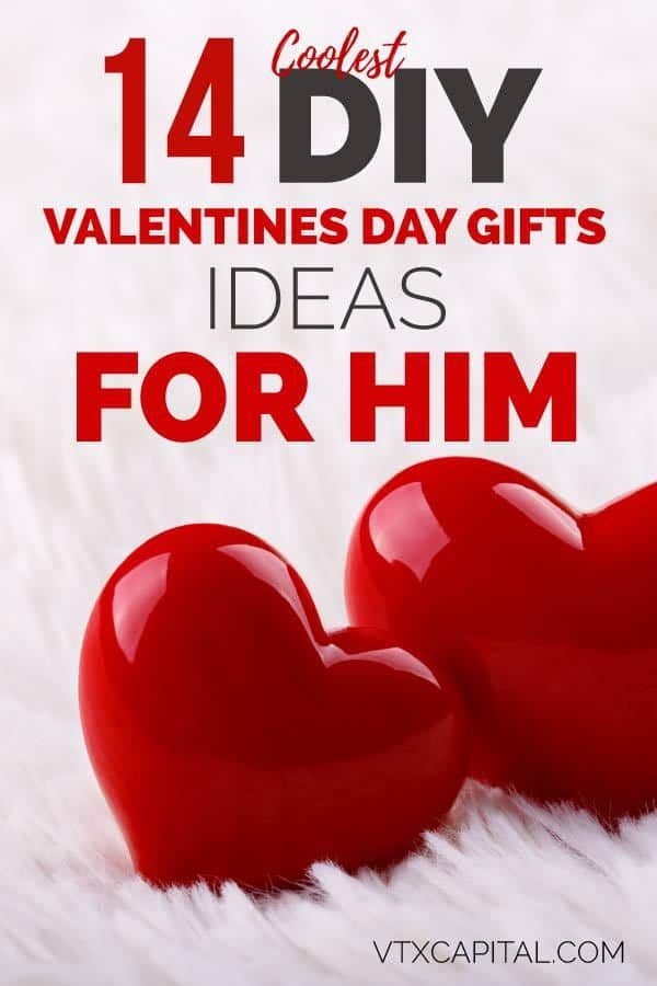 40 Best Valentine S Day Gifts For Him 2021 Edition Cheap Valentines Day Gifts Valentines Day Gifts For Him Husband Diy Valentines Day Gifts For Him