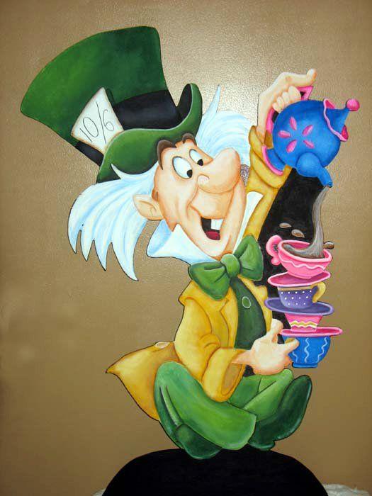 Alice in Wonderland party prop
