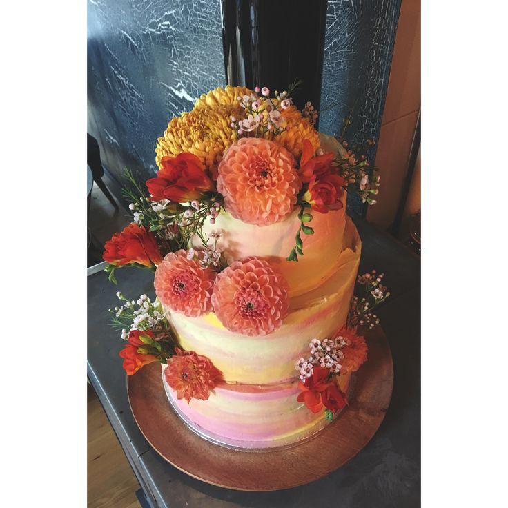 summer 2016 wedding cake | The Floury
