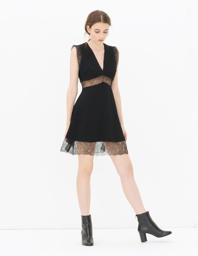 Pretty, Black, | sandro-paris.com