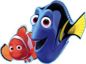 """Nemo para imprimir , los personajes de """"buscando a nemo"""" en imagenes y dibujos para imprimir. Puedes sorprender con las invitaciones a su f..."""