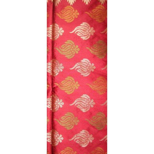 Red Fancy Handwoven Silk Saree - Online Shopping for Silk Sarees by Indian Ethnic Collection