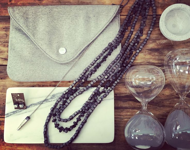 #grey #felt #marble #jewelry #gifts #quinceyjac