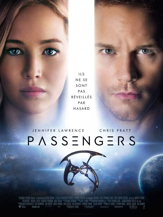 Passengers (2016) PG-13 | 1h 56min | Adventure, Drama, Romance | 21 December 2016 (USA) - A spacecraft traveling to a distant colony planet and transporting thousands of people has a malfunction in its sleep chambers. As a result, two passengers are awakened 90 years early.