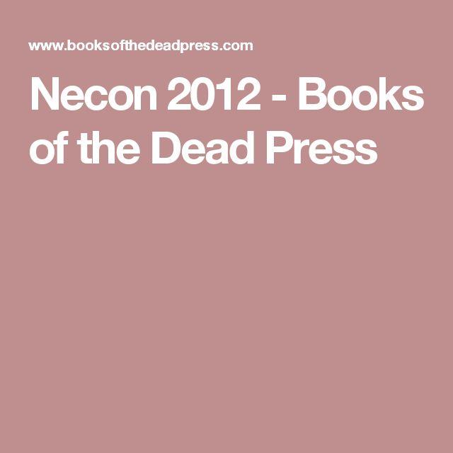 Necon 2012 - Books of the Dead Press