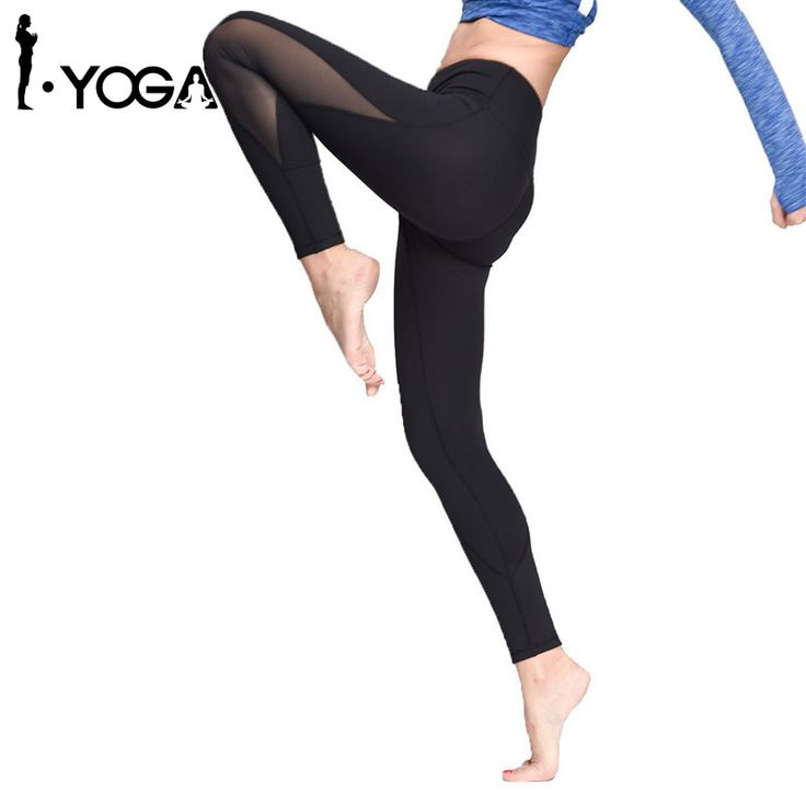 Yoga Pants  Leggings For Women Yoga Compression Pants Women Sports Gym Tights Woman Sportswear Leggings Sports Fitness Slim Mesh Yoga Pants ** Details on this piece can be viewed on AliExpress website by clicking the image
