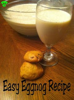 Easy Eggnog Recipe by Kims Kandy Kreations