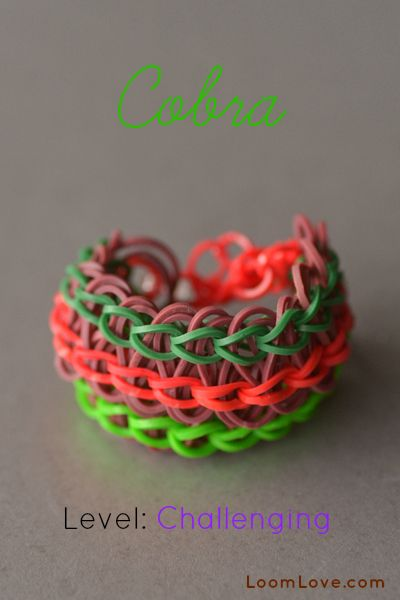 How to Make a Cobra Bracelet