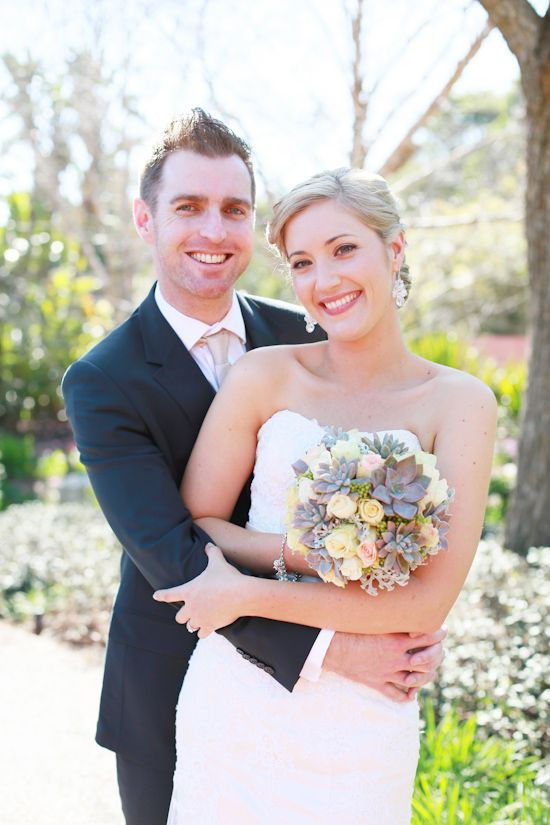 Meg and Tim's Romantic Garden Wedding