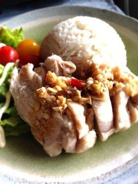 炊くだけカオマンガイ♬(チキンライス)
