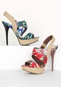 Lyla Heeled Sandal