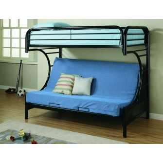 Element Futon Bunkbed Black