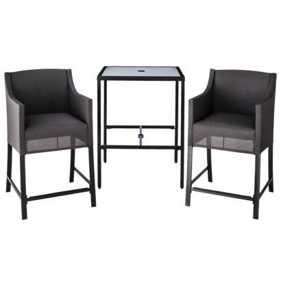 Northrop 3-Piece Sling Bistro Furniture Set