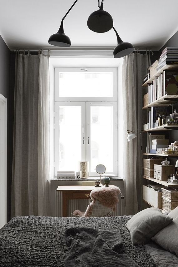 Cozy bedroom via Fantastik Frank
