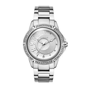 Γυναικείο μοντέρνο αδιάβροχo ρολόι BREEZE Midnight Swing 610561.1 με λευκό καντράν και ατσάλινο μπρασελέ | Ρολόγια BREEZE ΤΣΑΛΔΑΡΗΣ στο Χαλάνδρι #breeze #midnight #swing #μπρασελε #watches #ρολόγια