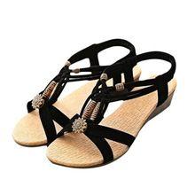 Женские Повседневные туфли Плоские Пряжки Обувь Римские Сандалии Летом 2017 горячей продажи на подарок оптовая(China (Mainland))