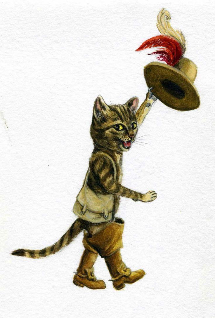 Fabuleux 8 best Illustration de contes - Le chat botté. images on Pinterest  BI88