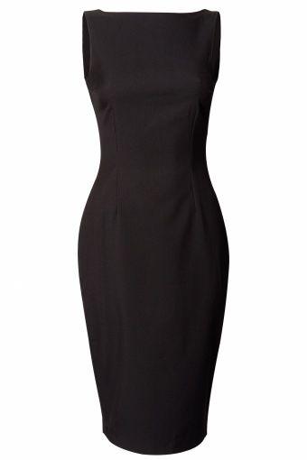 Glamour Bunny - 50s Breakfast at Tiffany's Dress black